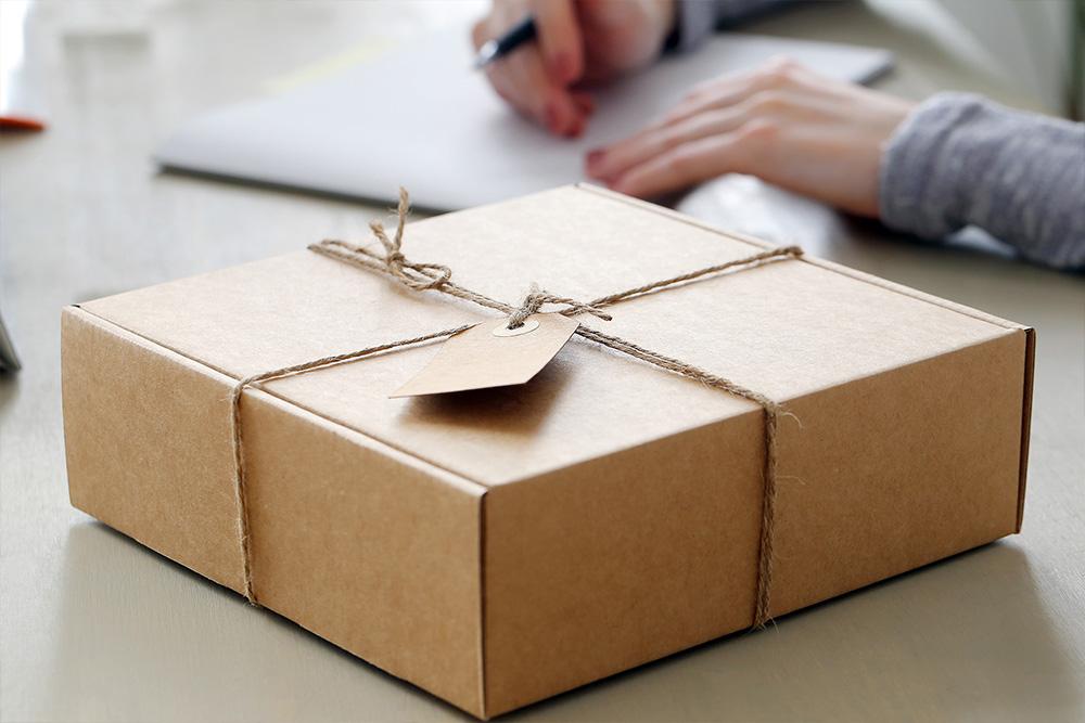 Embalaje para envíos