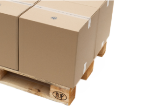 Paletización de cajas