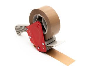 Precintadora manual para cinta de 50 mm y 75mm